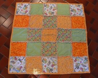 Custom made rag quilt