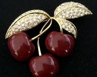 Joan Rivers Cherry Pin-Discontinued