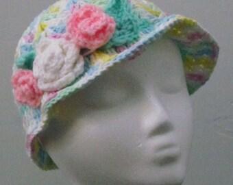 ttoddler spring brim hat