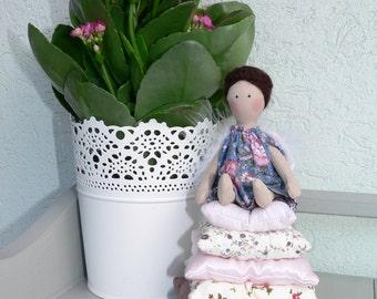 Tilda doll - Angel doll - Christmas Gift - Handmade - Vintage - Gift - Home decoration - Home decor