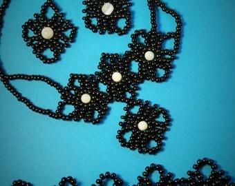 Necklace, Earrings, Bracelet