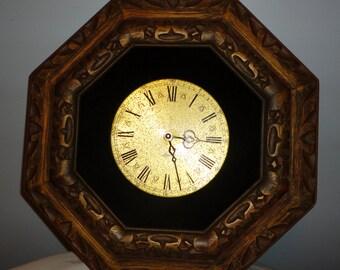Vintage Octagon Wall Clock