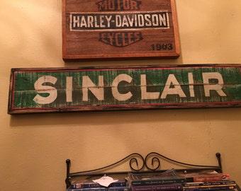 Vintage Sinclair Gas Sign