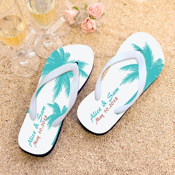 wedding flip flops beach wedding flip flops by weddingbyemma