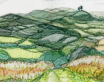 View From Allington Hill, Bridport.