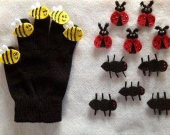 Morrison's Mittens-Bugs Set