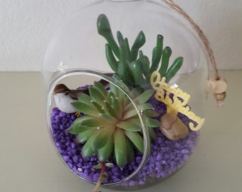 Succulent Terrarium, Home decor, Gift Idea