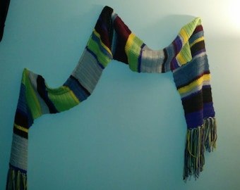 Doctor Four scarf