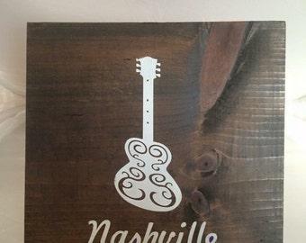Nashville wood art