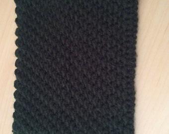 Crocheted iPad mini cozy