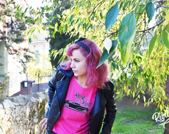 Ribilly pink t-shirt