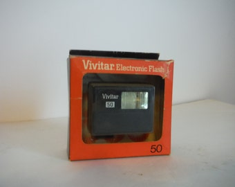 Vivitar Electronic Flash 50 *New in Box*