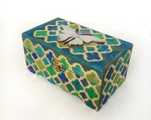 Perfect Marrocan Jewelry box for your interior / Jewelry boxes / Boxes / Wooden Trunks / Gift ideas / Girlfriend gifts / Decorating ideas