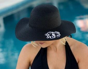 Floppy Sun Hats Monogram