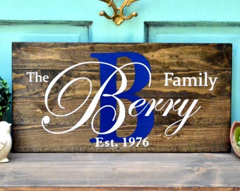 Wedding Decor Engagement Gift Wood painted sign