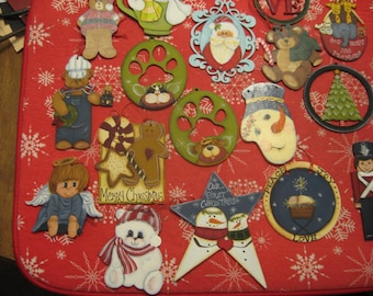 Hand painted Keepsakes for Christmas