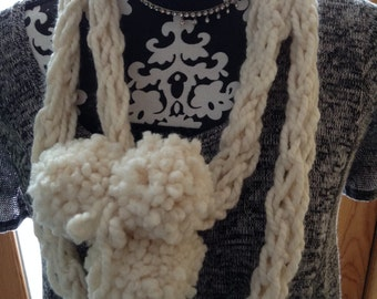 Another Versatile Soft Cowl Off White Color