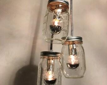 Jar light ball Mason jar light lamp