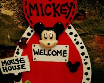 Mickey Mouse Secret Door