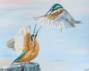 Kingfishers - Print