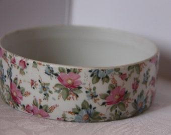 Limoges porcelain dish, porcelain dish, limoges dresser dish, jewelry dish, vintage limoges dish