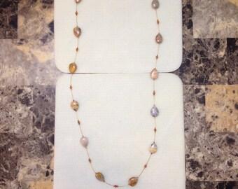 Gemstone Illusion Necklace