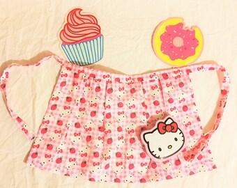 Hello Kitty Apron Handmade