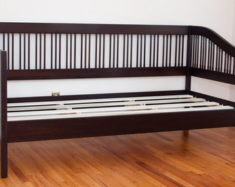 XL Daybed - Java Stain Solid Poplar wood.