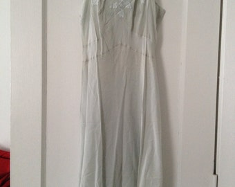 50's silk slip (most likely lord and taylor)
