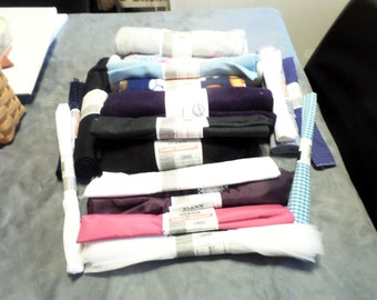 Rolls of cloth for Smaller Crafts (14 small rolls)