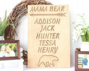 Mama Bear Plaque