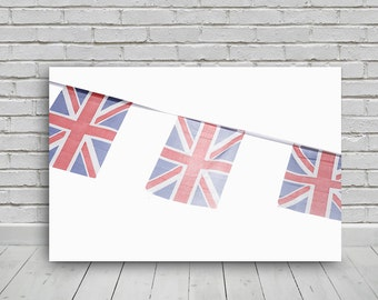 photo digital download British Union Jack bunting  24x16in