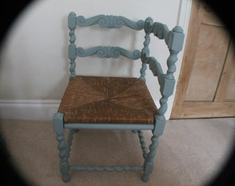 A Very Unusual Corner Chair