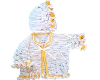 Girl Ruffles Sweater Set