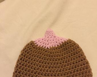 Breastfeeding Hats, Boob Hat, Boob Beanie *Made to Order*