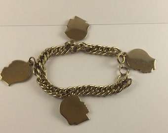 Family Vintage Charm Bracelet