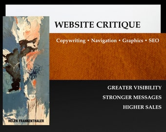 Website Critique - Website Content Critique - Website Review - Writing Service - Website SEO Copywriting Service - Website Copy Writer