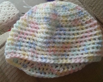 Multi - Color Baby Hat