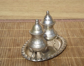 Salt and pepper pots Made in India handmade