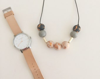 Leema - handcrafted polymer clay jewelry (made to order)