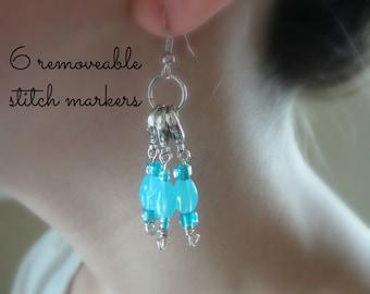 Stitch Marker Earrings