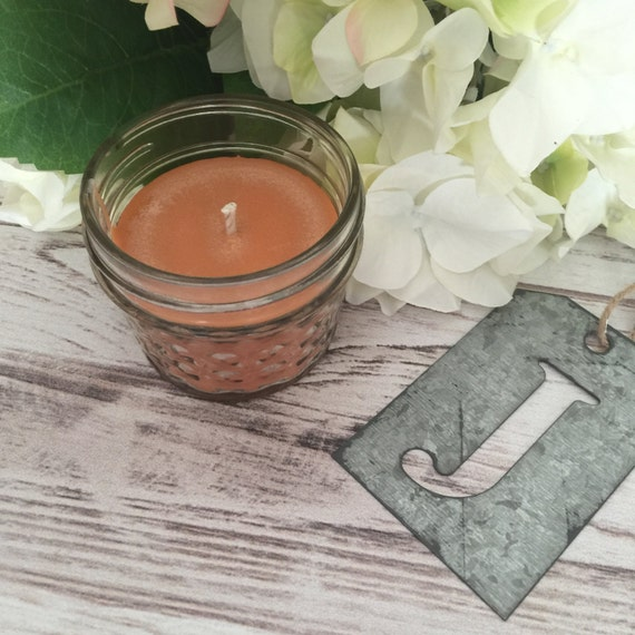 clearance baked apple pie scented soy candle 4 oz mason jar
