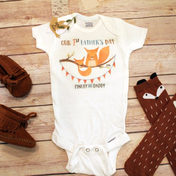Our First Fathers Day Onesie Happy Father 39 S Day By