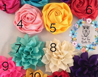 Flower for Dog Collar, 3 inch dog collar flower, dog collar flower, Collar add on, Collar Flower