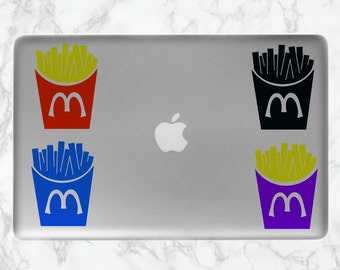 French Fry Computer/Laptop Sticker | Fast Food Sticker | French Fries Sticker