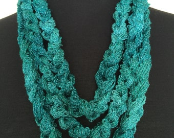 Children's Crochet Chain Scarf