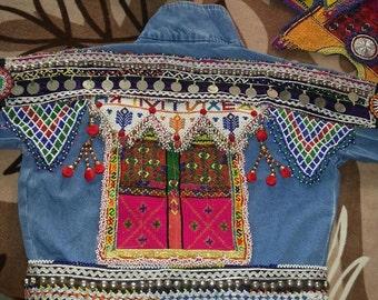 Embellished Jeans Jacket