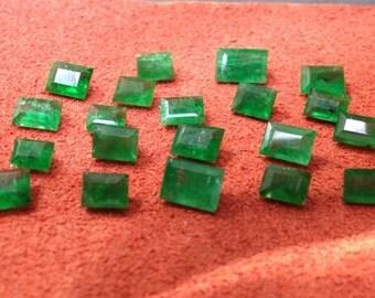 5.45ct. tw. Natural Emerald