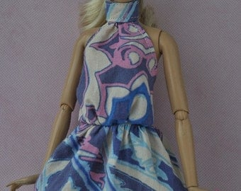 Handmade dress for Barbie dolls
