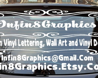 Custom Etched Glass Decal Frosted Glass Decals Design Your - Car windshield decals custom